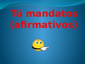 Informal mandatos afirmativos Apuntes