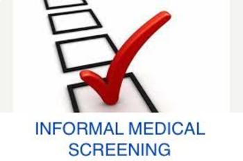 Informal medical screening