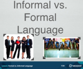 Informal vs. Formal Language Nearpod