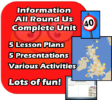 Information All Around Us - Complete 6/7 Lessons - EDITABLE