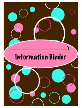 Information Binder Forms
