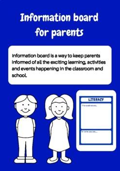 Information Board For Parents