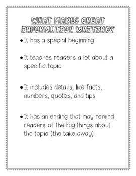 Information Book/Expert Book Guidelines