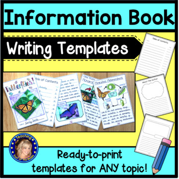 Information Book Writing Templates
