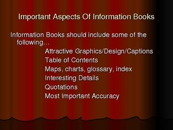 Information Books PowerPoint