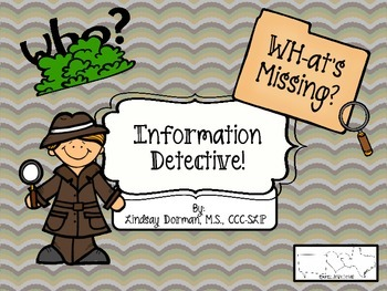Information Detective: Wh-at's Missing?