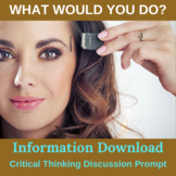 Information Download Critical Thinking Activity