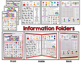 Information Folders - Mini Office - Student Reading, Writi