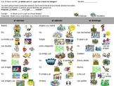 Spanish Information Gap Activity- Pastimes- Los Pasatiempo