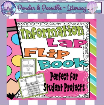 Information Text Interactive Lap Book - great for student projects / assignments