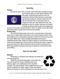 Informational Letter Writing-Earth Day