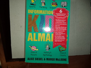 Information Please Kid's Almanac ISBN 0-395-58801-4