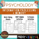 Information Processing and Memory-Psychology Interactive N
