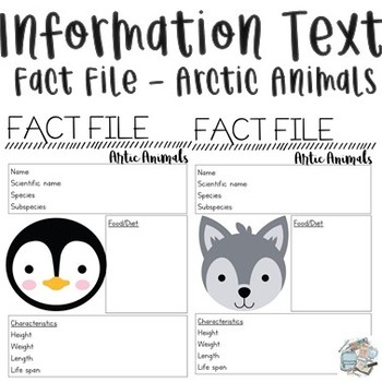 Information Report - Arctic Animals