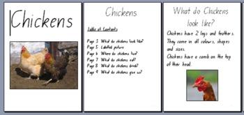 Information Report Big Books on Farm Animals
