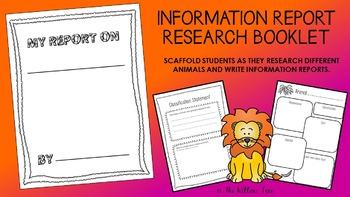 Information Report Booklet