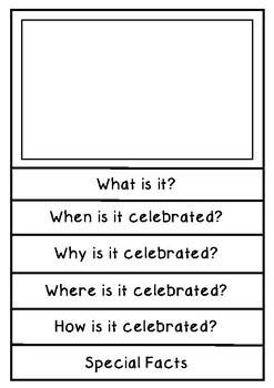 Information Report - Celebrations