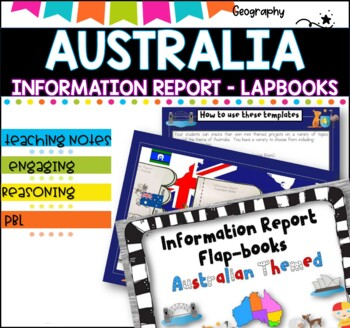 Information Report-Australia lapbooks