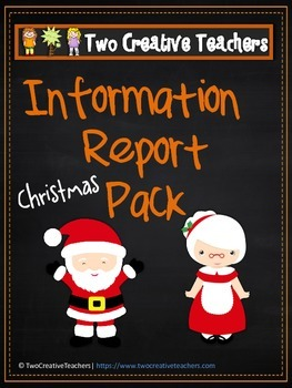 Information Report Pack BUNDLE - Christmas!!!
