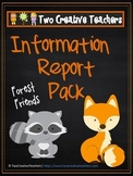 Information Report Pack BUNDLE - Forest Animals
