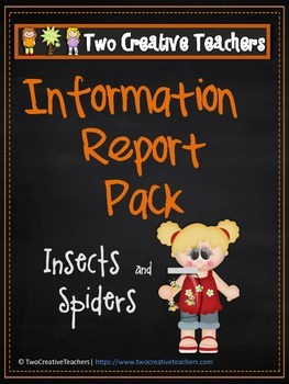 Information Report Pack BUNDLE - Insects