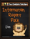 Information Report Pack - Lion
