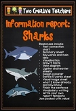 Information Report Pack - Sharks