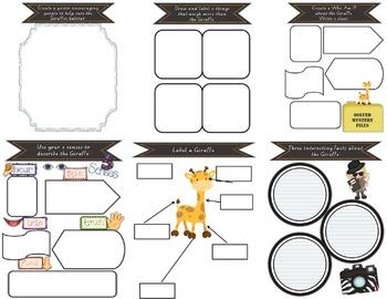 Information Report Pack BUNDLE - Wild Animals