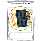 Information Report-Planning Template