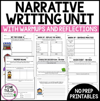 Complete Writing Unit Yr 5/6- Sentence structure, parts of speech, narratives