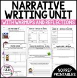 Narrative Writing Unit Grade 5/6