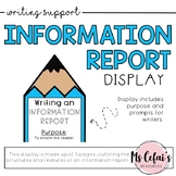 Information Report Text Type Display