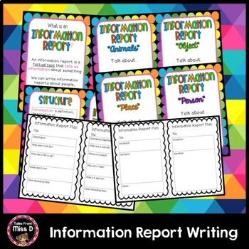 Information Report Writing