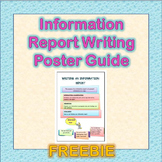 Information Report Poster FREE