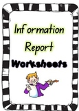 Information Report Writing Template