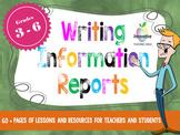 Information Report Writing Unit (Google Drive / Classroom