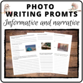 Narrative and informative writing prompts