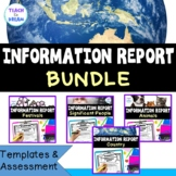 Information Reports Bundle   Animals, Festivals, Country and Significant People