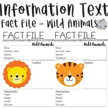 Information Reports - Wild Animals