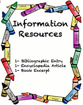 Louisiana Information Resources1-Bibliography, Encyclopedia, and Map