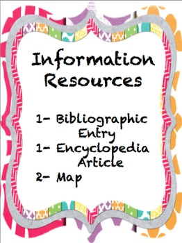 Louisiana Information Resources 2- Encyclopedia, Map, Bibliography