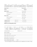 Information Sheet