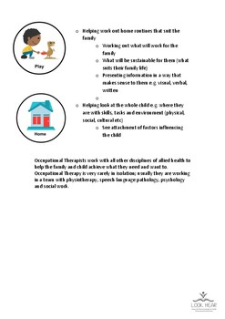 Information Sheet - Occupational Therapy for Babies