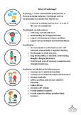 InfoSheet  - Psychology