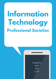 Information Technology Professional Societies Research Assignment