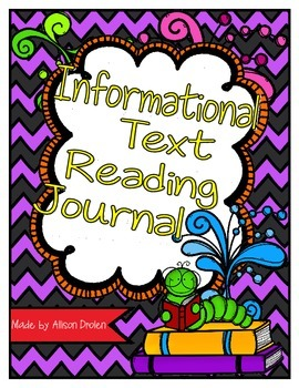 Information Text (Non Fiction) Reading Journal