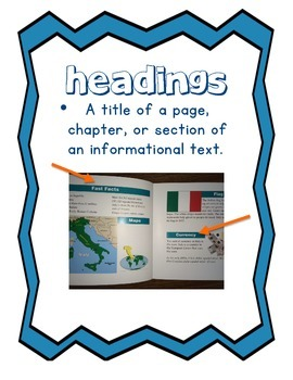 Information Text Posters