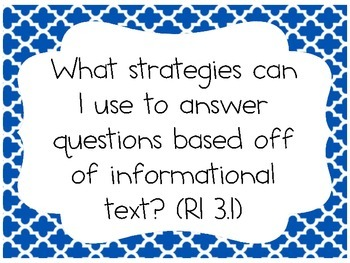 Information Text Questions