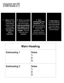 Editable Informational Text Structures PPT