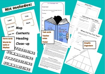 Information Texts - a complete kit for use in grades 3-6